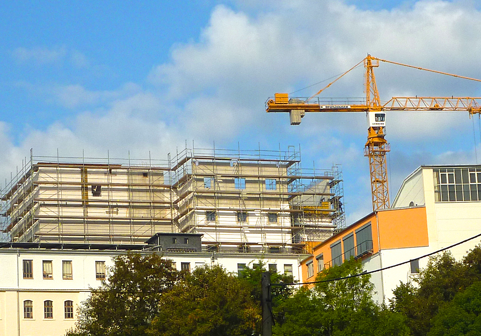 Neubau Polstermöbel Oelsa 2010/2011